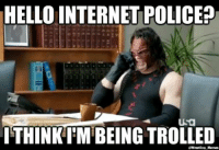 Exactly why Kane doesn't use social media...: HELLO INTERNETPOLICE?  Usa  ITHINKIM BEING TROLLED  QWrestling Memes Exactly why Kane doesn't use social media...