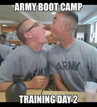 training: ARMY BOOTCAMP  TRAINING DAY
