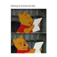 you @hoeposts: Staring at homework like you @hoeposts