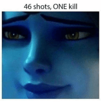 Memes, 🤖, and A Team: 46 shots, ONE kill So much hype for the 3v3 Overwatch PC Tournament this weekend, and it's free! All you have to do to participate is click the link in my bio! For all the console players there will be tournaments soon! If you need a team just communicate with others in the comments below.
