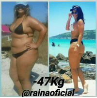 Memes, 🤖, and Her: 47 Kg  (arainaoficial @rainaoficial absolutely killing it! 47kgs down! Let's show her some love ❤️ .