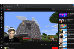 """Hello, Life, and Lol: (49) how to get PewDiePie's Min  http:://www.youtube.com/watdh?v=LE8ml2hZVZM  !  YouTube  Search  Up next  AUTO  Tips That Could Sav  Life If You Get Lost In  HOW TO SURVIVE  Science Insider  60K views  New  INSIDER  8:35  MINECRAFTEPIC  BADIDEA  PewDiePie  16  Updated today  Tech You Can ACTUAI  Afford. Seriously.  UrAvgConsumer  Recommended for you  New  7:35  r/Maliciouscomplianc»  MY PROM PHOTOS! N  EDIT MY  PROM  PHOTOS!rSlash  lol ok Recommended for you  1 6:31  New  r/Entitledparents She  DEMANDS First Class  IWANT  FIRST  CLASS!  rSlash  ended for you  New  
