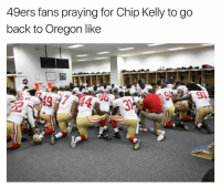 Chip Kelly, Memes, and Oregon: 49ers fans praying for Chip Kelly to go  back to Oregon like