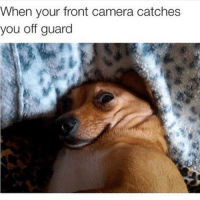 Scary: When your front camera catches  you off guard Scary