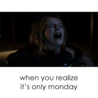 OMG I can't even. On the bright side, Scream premieres tomorrow at 10-9c on MTV sponsored: when you realize  it's only monday OMG I can't even. On the bright side, Scream premieres tomorrow at 10-9c on MTV sponsored