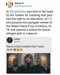"""People who call Taylor Swift """"baddest bitch"""" need to re-evaluate their life. 