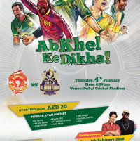 Meh, Memes, and Time: 4th February  Thursday,  QUETTA  Time: 8:00 pm  VS  Venue: Dubai Cricket Stadium  STARTING FROM AED 20  TICKETS AVAILABLE AT  Delight  BBa Kulcha King  Tandoori Junction  Sports  .Al Fardaan Exchange  TCS  Karachi Darbar  Delhi Nihari  Sindh Punjab  opening ceremony  Meh February 2016 320 people interested · 72 going