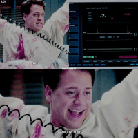 [5.07] what a cutie 😍😭 — { georgeomalley greysanatomy}: 5.07  Yes!  THISISGRErs  You don't get to die!  Seattie Grace Trauma 2 0907135  my  CHANNEL  1: ECO-CH1  15  LEADS ON  II  Non paced mode  PULSE  ST t  ST 2  ARMS ENGAGED [5.07] what a cutie 😍😭 — { georgeomalley greysanatomy}
