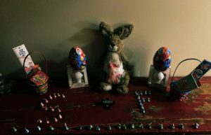 5:30 am Bunny droppings #HappyEaster https://t.co/wV5PVDUrty: 5:30 am Bunny droppings #HappyEaster https://t.co/wV5PVDUrty