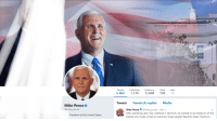 Beautiful, Memes, and Labor Day: 5,462 1,176 3.34M 728 1  Tweets Tweets &replies Media  Mike Pence  @mike_pence  Mike Pence@mike_pence Sep 3  After spending Labor Day weekend in Vermont, we wanted to say thanks to all the  people who made us feel so welcome! Great people! Beautiful state! Thanks so  President of the United States