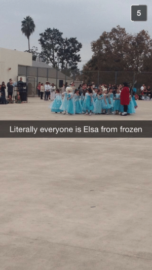Elsa, Frozen, and Halloween: 5  Literally everyone is Elsa from frozen all-too-well:  Halloween 2014