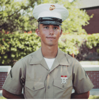 Marine, Did, and You: 5 months ago, I told you I'd become a Marine! I did it!
