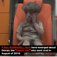"Facebook, Facts, and Fire: 5 New BOMBSHELL facts  have emerged about  Omran, the  Aleppo boy"" who went viral in  August of 2016. VIDEO 1 of 2: Father of Famous AleppoBoy Just Exposed How the US & White Helmets Lied to the World... ☕️🐸 REPORT: (link to article in our bio) Covered in dust and bruises with hair disheveled from having survived a blast, the blood beginning to crust over half his face, a seeming placidity — hands anchored on his legs, all-but unmoving — could not mask the stoic trauma in little OmranDaqneesh's eyes. . Gazing hauntingly from the back of an ambulance in Aleppo in August 2016, Omran's image snared the heartstrings of the world — even those previously hardened to the hopelessly tangled morass in Syria — transmogrifying into a single human form the suffering of innocent Syrians at the whims of entire nation-states embroiled in proxywar upon war in the name of political squabbles. . But, while the West took up Omran's cause, Westerners did so under the pretense the child had been bloodied by an airstrike or missile launched by the forces of Syrian President Bashar AlAssad or their allies from Russia — his image rekindling the fire of contention propaganda designed to support the United States' goal of regime change. . But it was a lie — from mass media's parroted claims the boy had escaped an airstrike within an inch of his life, to bandages eventually wrapped around Omran's head — virtually none of the narrative stemming from the starkly persistent image bore the weight of truth... . - Continued - . 💭 Read the FULL Report: (link in bio) http:-thefreethoughtproject.com-father-of-famous-aleppo-boy-just-exposed-how-the-us-white-helmets-lied-to-the-world- 💭 Join Us: @TheFreeThoughtProject 💭 TheFreeThoughtProject 💭 LIKE our Facebook page & Visit our website for more News and Information. Link in Bio... 💭 www.TheFreeThoughtProject.com"