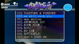 """salmiaki:""""it's a baby!"""": 5 S  000o  032. TOGETHER & FOREVER  033. we will rock you  001. any motion  l 002. AROMDAON 21C  
