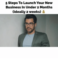 What new biz idea u launching fast? Don't procrastinate. Check out Tailopez.com-NewBusiness - @colehatter: 5 Steps To Launch Your New  Business In Under 2 Months  (ideally 2 weeks) What new biz idea u launching fast? Don't procrastinate. Check out Tailopez.com-NewBusiness - @colehatter