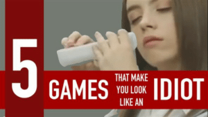 gameplaymotionofficial:   5 games that make you look like an idiot :Luckily the whole Kinect, Wii and Playstation Move hype has died down  but boy was it stupid to play games with your body. Kinect is just the  tip of the ice berg of awkwardness. Here are 5 games that make you look  like an idiot!http://www.gameplaymotion.com/5-games-that-make-you-look-like-an-idiot/: 5  THAT MAKE  IDIOT  GAMES  YOU LOOK  LIKE AN gameplaymotionofficial:   5 games that make you look like an idiot :Luckily the whole Kinect, Wii and Playstation Move hype has died down  but boy was it stupid to play games with your body. Kinect is just the  tip of the ice berg of awkwardness. Here are 5 games that make you look  like an idiot!http://www.gameplaymotion.com/5-games-that-make-you-look-like-an-idiot/
