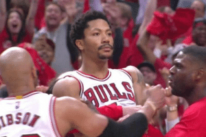 5 years ago today, the Derrick Rose celebration meme was created! https://t.co/RmCkzSHUWR: 5 years ago today, the Derrick Rose celebration meme was created! https://t.co/RmCkzSHUWR