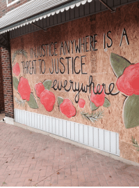 Beautiful, Windows, and Ferguson: 50  INJUSTICE ANYWHERE IS