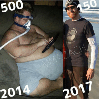 "Cheating, Click, and Fake: 500  201  2017 I lost 350 pounds with many small goals, one thing that helps is a food log. One of the reasons why I tell everyone to start a food log is ""accountability"". We all need to be put in check. We need to be held accountable for our actions when it comes to eating and without the food log or knowing what you are eating what is the point of trying to lose weight when you may be letting your appetite run wild? If we don't hold ourselves accountable for it if you're lying to yourself then there's literally no point in trying to lose weight, so write down exactly what we eat because when we cheat were cheating yourself. • Yes - I had surgery - I had skin surgery - I lost 350 pounds • No - I'm not fake - Pills - Shakes - Teas - Wraps -More Prescription Pills - More CPAP Machine - More Asthma • I would be dead today if I did t attempt to take control of my life, this is my wildest dressy and only getting better. Follow me @mmazach __________________________ For Shoutouts-Fitness Program-Fat Burner details Click on the link in our profile @trainandtransform . howtotransform trainandtransform trainhard training gym gymlife lifting doyouevenlift strongisthenewskinny transform transformation beforeandafter transformationtuesday fitness fitnessgoals fitnessjourney fitspo weightloss weightlosstransformation fatloss healthandfitness healthy exercise workout cardio progress weightlossmotivation weightlossinspiration weightlossgoals"