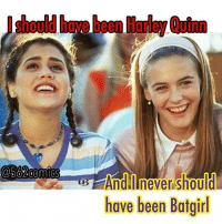 Memes, Clueless, and Comics: @502 Comics  have been Batgirl From @562comics - Do you agree? Photo via: @1990s.daily . . harleyquinn harley brittanymurphy margotrobbie harleyquinncosplay harleenquinzel aliciasilverstone clueless batgirl batmanandrobin thebatman dc dccomics dceu fancast 90s asif loser comicbookmemes comicbookmovies - regrann