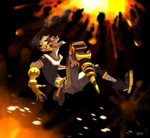 Tumblr, Blog, and Http: 50s2 s0s2: He just blasted off his ult. Quick drawing of the new skin. I luv it!