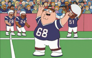 Even Peter Griffin had a longer career with the Patriots than Antonio Brown https://t.co/Gk4R56cXQU: 51  24  28  68 Even Peter Griffin had a longer career with the Patriots than Antonio Brown https://t.co/Gk4R56cXQU