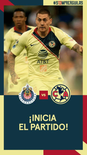1' // Underway at Estadio Azteca!:  #513MPREAGUILAS  C A  VS  INICIA  EL PARTIDO! 1' // Underway at Estadio Azteca!