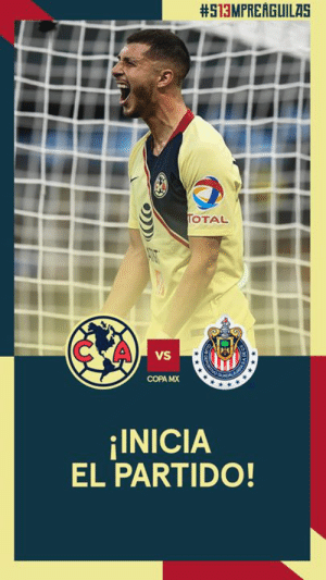 1' // Underway at Estadio Azteca!:  #513MPREAGUILAS  OTAL  C A  VS  COPA MX  INICIA  EL PARTIDO! 1' // Underway at Estadio Azteca!
