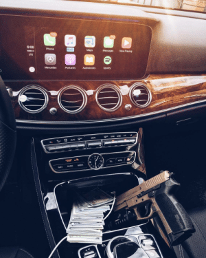 """Mercedes, Music, and Phone: 52  6:06 Phone Maps Messages Now Playing  Music  LTE  Mercedes Podcasts Audiobooks Spotify  MENU  C""""src cap AC  ▼▲ン1嚣AUTO@ㅾ  9  3  TEL  NAVI  RADIO MEDIA"""