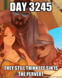 Everyone is forgetting about the man behind Lee.  Source: White Hammer (OCE) -near: DAY 3245  THEY STILL THINK LEE SIN IS  THE PERVERT  meme  rierator net Everyone is forgetting about the man behind Lee.  Source: White Hammer (OCE) -near