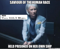 New Spartan Ops soon! Credit:Halo and COD Memes (give them a like) ~Chris: SAVIOUR OF THE  HUMAN RACE  Admin  HRIS  HALS M  EMES  HELD PRISONER ON HEROWN SHIP  IIM  atDol New Spartan Ops soon! Credit:Halo and COD Memes (give them a like) ~Chris