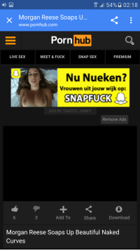 Girl On Snapfuck Ad