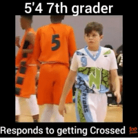 Memes, Revenge, and 🤖: 54 7th grader  Responds to getting Crossed  RYO  5 He got his revenge💀 - Comment your name letter by letter for a spam! - Follow @fullcourtplayz for more! - @athleticsplays