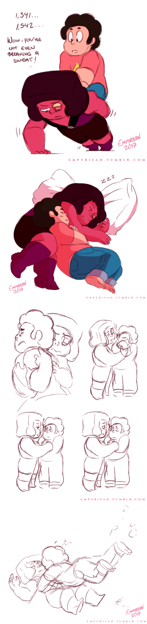 """empyrisan:  Eyeball Redemption Arc""""I'm terrible and I don't deserve your kindness.""""Have these ERA sketches I did earlier this month. I can't stop thinking about these two being family.: ,542..  Wou you'ne  uor EUEN  SWEAT I  L5  2  EMPYRISAN.TUMBLR.COM   SA  12  EMPYRISAN.TUMBLR.COM   リ  CA  r.  E M PYRISAN.TUMBLR.COM   SA  12  EMPYRISAN TUMBLR.COM empyrisan:  Eyeball Redemption Arc""""I'm terrible and I don't deserve your kindness.""""Have these ERA sketches I did earlier this month. I can't stop thinking about these two being family."""