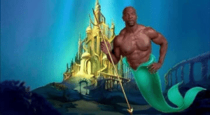 The Little Mermaid, Poseidon, and Mermaid: 544 With the new Little Mermaid coming out, I think we all know who should be cast as Poseidon