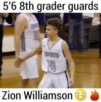 """He was really defending him 😂😂😂 Comment """"8th"""" letter by letter?👇🏾 • Follow @saltyhighlights for 7 years of good luck🍀👌 • 🔥 Like and comment! 🔥 • Hoodclips houseofhighlights boy selfie nba memes dankmemes funnyvids cavs bulls: 5'6 8th grader guards  GHITS  Zion William  son He was really defending him 😂😂😂 Comment """"8th"""" letter by letter?👇🏾 • Follow @saltyhighlights for 7 years of good luck🍀👌 • 🔥 Like and comment! 🔥 • Hoodclips houseofhighlights boy selfie nba memes dankmemes funnyvids cavs bulls"""