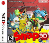 This would've been awesome! http://whatdoumeme.com/meme/12wgkb: The Pokemon Company  Nintendo  Wi-Fi  EVERYONE  ESRB  Brought By: Facebook.com PokemonMemes  WhatDouMeme.com  D This would've been awesome! http://whatdoumeme.com/meme/12wgkb
