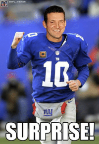 Eli Manning with 2 INTs in the 1st quarter!: ONFL MEMEs  SURPRISE! Eli Manning with 2 INTs in the 1st quarter!