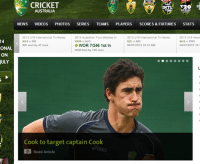 Go home Cricket Australia, you're drunk!: 14  ONAL  ON  JULY  CRICKET  INTL  R20  T20  BIG BASH  AUSTRALIA  NEWS  VIDEOS  PHOTOS  SERIES  TEAMS  PLAYERS  SCORES & FIXTURES  STATS  2013 U19 International Tri-Series  2013 Australian Tour Matches in  2013 U19 International Tri Series  2013 U19 Intern  AUS v IND  AUS v PNG  WOR v AUS  NZL v IND  WOR 7/246 1st In  IND won by 47 runs  04/07/2013 10:15 AM  04/07/2013 10  WOR trail by 150 runs  Cook to target captain Cook  Read Article Go home Cricket Australia, you're drunk!