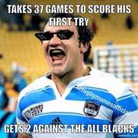 Creevy 💪🏼💪🏼 rugby rugbygram rugbymemes rugbyunion rugbyworldcup pumas argentina lospumas allblacks nzvarg newzealand wallabies springboks ausvsa wales ireland scotland england agustincreevy: TAKES 37 GAMES TO SCORE HIS  FIRST TRY  UAR  GETS 2 AGAINST THE ALLBLACKS  mematic net Creevy 💪🏼💪🏼 rugby rugbygram rugbymemes rugbyunion rugbyworldcup pumas argentina lospumas allblacks nzvarg newzealand wallabies springboks ausvsa wales ireland scotland england agustincreevy