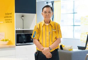 Ikea, Life, and Good: 5ordqumwá  aldfnalwoaau  Sustainable&  healthier life  IKE  All rights reserved Asla City Medla Group Good afternoon Felix, welcome to Ikea, hope you enjoy your stay!