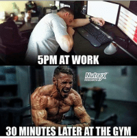 Cannot wait till it is gym time 💪😎 @aestheticelite 🔥🔥: 5PM AT WORK  Nutrex  RESEARCH  30 MINUTES LATER AT THE GYM Cannot wait till it is gym time 💪😎 @aestheticelite 🔥🔥
