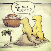 The dinosaurs were probably in the Ark, but still funny. submission from @piano_dude11! Genesis BaptistMemes coolestsummer: on.  Was that  TODAY? The dinosaurs were probably in the Ark, but still funny. submission from @piano_dude11! Genesis BaptistMemes coolestsummer