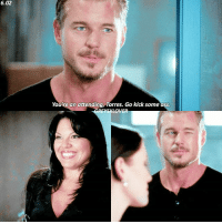 Ass, Birthday, and Memes: 6.02  Youre an attending, Torres. Go kick some ass.  REMSKLOVER [6.02] that wink tho — happy birthday to this amazing woman @therealsararamirez🎈❤ { marksloan ericdane callietorres sararamirez greysanatomy}
