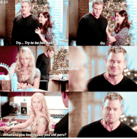 Dad, Memes, and Old: 6.10  Try... Try to be her dad  What you looking at you old perv?  are Go. [6.10] this scene cracks me up😂 — { slexie lexiegrey chylerleigh marksloan ericdane greysanatomy}