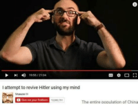 <p>Did 🅱️itler die?!</p>: 6  19-55/2104  I attempt to revive Hitler using my mind  Vsaucea  Give me your firstborn  0,880,791  The entire population of China <p>Did 🅱️itler die?!</p>