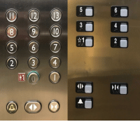 America, American, and Europe: 6  2  1  5  3 European elevators start at 0, American elevators start at 1. Europe  America???