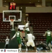 Nasty, Nasty, and Sports: 6:23  u nbadleague  N One-handed. Alley-oop. AND1. Poster. Nasty. (via @nbadleague)
