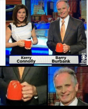 Meirl by ZIPPERGAMES MORE MEMES: 6:33  Kerry  Connolly  Barry  Burbank  CBSBost Meirl by ZIPPERGAMES MORE MEMES