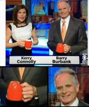 meirl: 6:33  Kerry  Connolly  Barry  Burbank  W B  CBSBost meirl